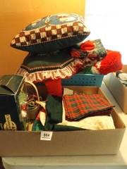 Christmas  Holiday linens  Ornaments
