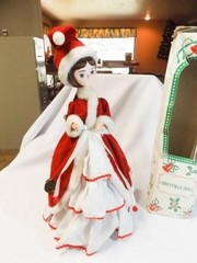 Vintage Christmas Doll with Box
