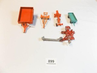 Trailers  Swather  Grader Metal Toys  5