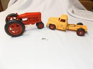 Plastic Truck  Tractor