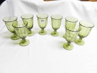 Stemmed Drinking Goblets  8