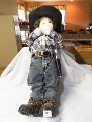 Cowboy Stuffed Figure  29