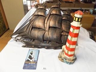Ship  lighthouse Decor  3