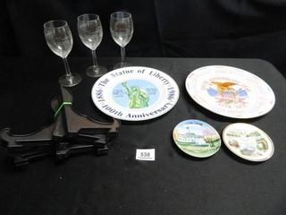 Bicentennial Plate  Souvenir Plates
