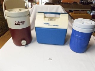 Jugs  lunch Box   Coleman  Thermos