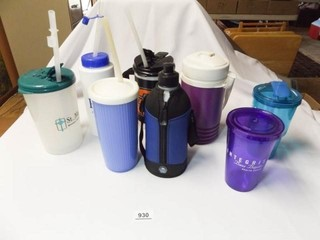 Plastic Drinking Containers  laundry Basket