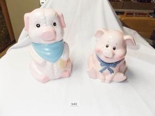 Pig Cookie Jars  2