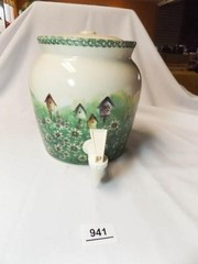 Stoneware Crock with Spigot