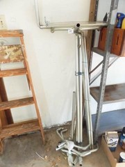 Aluminum Pipe   possibly Clothes Rack