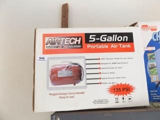 Airtech Portable Air Tank  5 Gallon