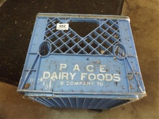 Pace Dairy Foods Blue Crate