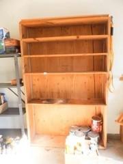 Wood Shelf   75  x 48  x 12