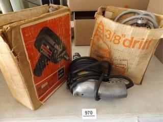 Electric Drills  3    Sears  Black   Decker