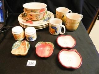Royal Norfolk Dish Set  8 Pieces