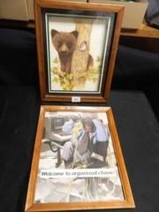 Framed Prints  Bear  Monkey