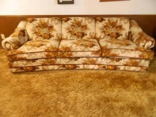 Vintage Sofa  31  h  x 36  x 96  l