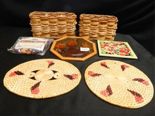 Trivets Assorted  Basket Containers