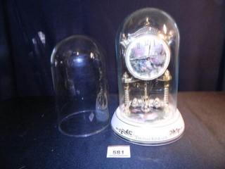 Thomas Kincade Anniversary Clock