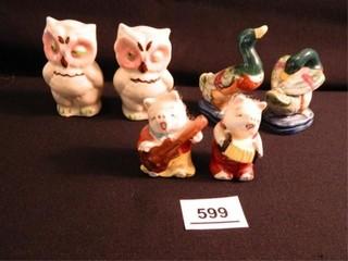 Owls  Ducks  Pigs  S   P Sets