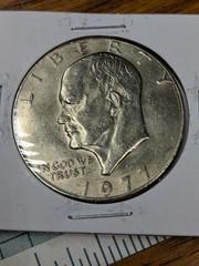 1977 Eisenhower $1 US coin