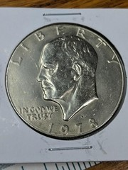 1978 Eisenhower US $1 coin