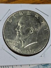 1976 bicentennial Eisenhower $1 coin