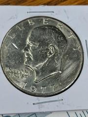 1977 US Eisenhower $1 coin