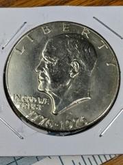 Bicentennial 1976 Eisenhower US $1 coin