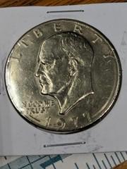 1977 US $1 Eisenhower coin