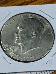 1976 bicentennial Eisenhower $1 US coin