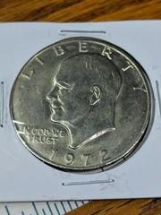 1972 US Eisenhower $1 coin