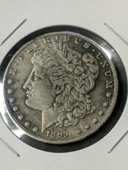 1893 CC Morgan dollar SEE Description