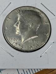 1976 bicentennial Kennedy half dollar