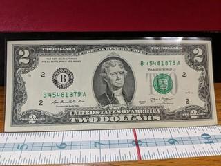 2013 $2 bill