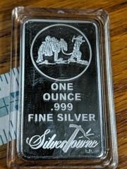 1 oz 999 fine silver silvertowne