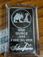 1 oz .999 fine silver silvertowne