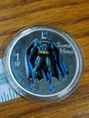 1 oz .999 silver Batman 2014