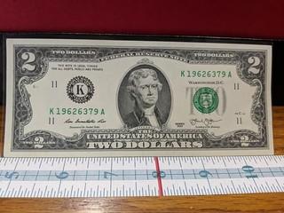 2013 US $2 bill