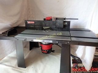 Deluxe Router Table & Router