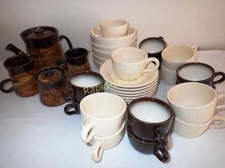 Artisan Coffee / Tea Set Plus