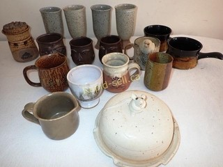 Artistic Pottery Pieces