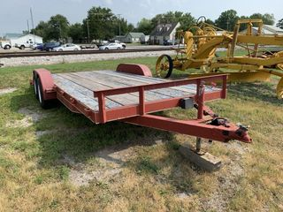 Tandem Axle Trailer Approx 18' No Title