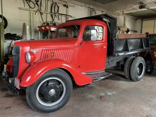 1936 Ford F450 Dump Truck Restored 98k Showing,