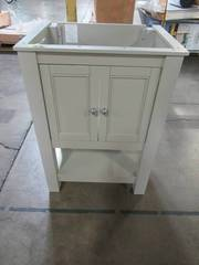 Home Decorators Collection Gazette 24 in. W x 18 in. D Vanity Cabinet Only in Grey GAGA2418