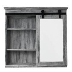 Glacier Bay 31 in. x 29 in. Barn Door Medicine Cabinet SP5675