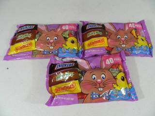 3 New Bags of Candy