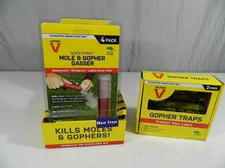 Gopher and Mole Repellent Items