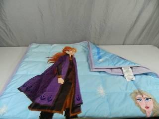 New Frozen II Kids 3.5 lb Weighted Blanket