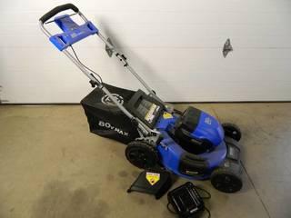 Almost New Kobalt 80 volt Battery Lawn Mower