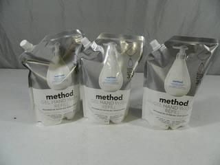 New Method Gel Hand Wash Refills
